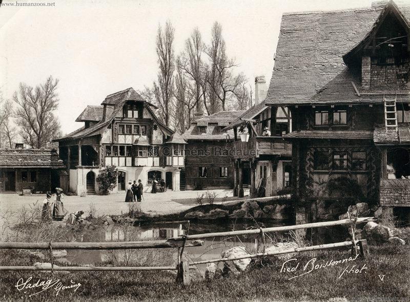 1896 L'Exposition Nationale Suisse Geneve - Village Suisse Boissonnas 5