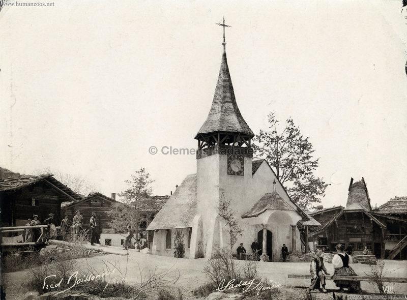 1896 L'Exposition Nationale Suisse Geneve - Village Suisse Boissonnas 8