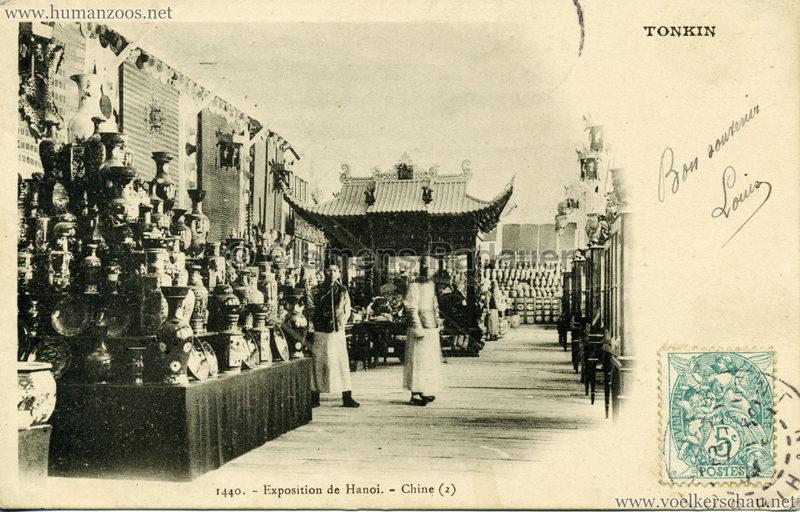 1902 Exposition de Hanoi - 1440. Chine