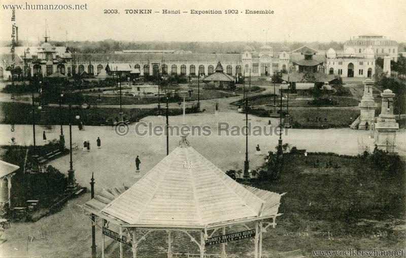 1902 Exposition de Hanoi - Ensemble