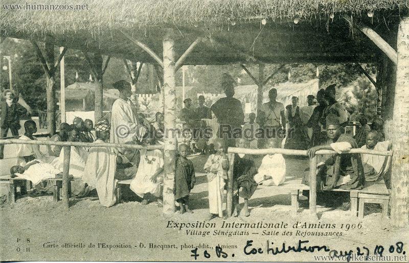 1906 Exposition Internationale d'Amiens - Village Sénegalais - Salle des Rejouissances (Franco British Exhibition)
