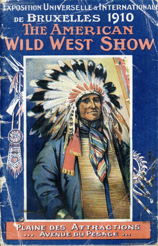 1910 Exposition de Bruxelles - The American Wild West Show 0