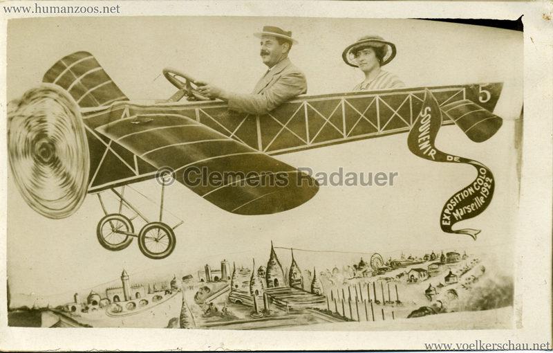 1922 Exposition Coloniale Marseille FOTO KOPF