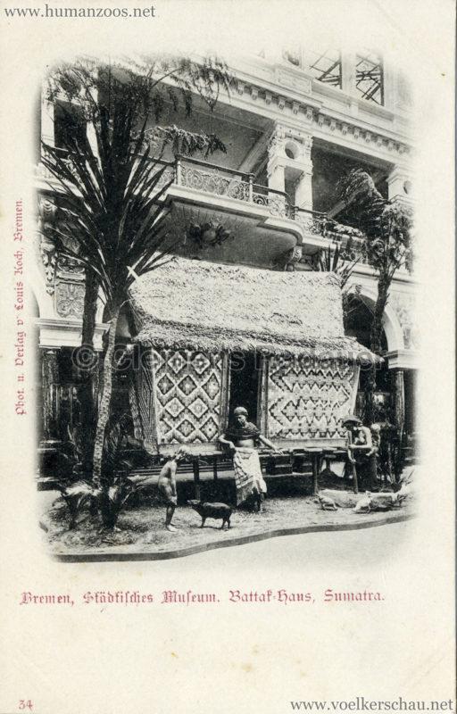 Bremen Städtisches Museum - Battak Haus Sumatra