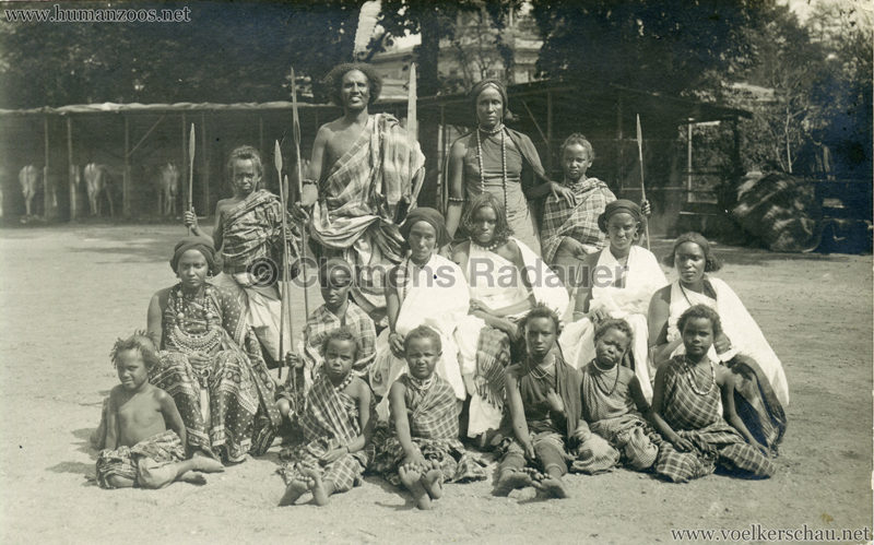 Hagenbeck Somalis - Gruppe 3 VS