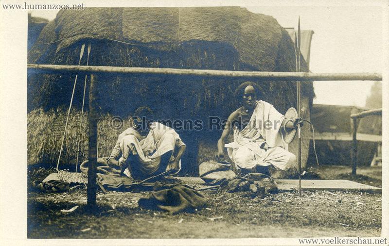 Hagenbeck Somalis - Handwerker