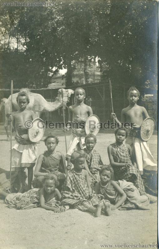 Hagenbeck Somalis - Kinder