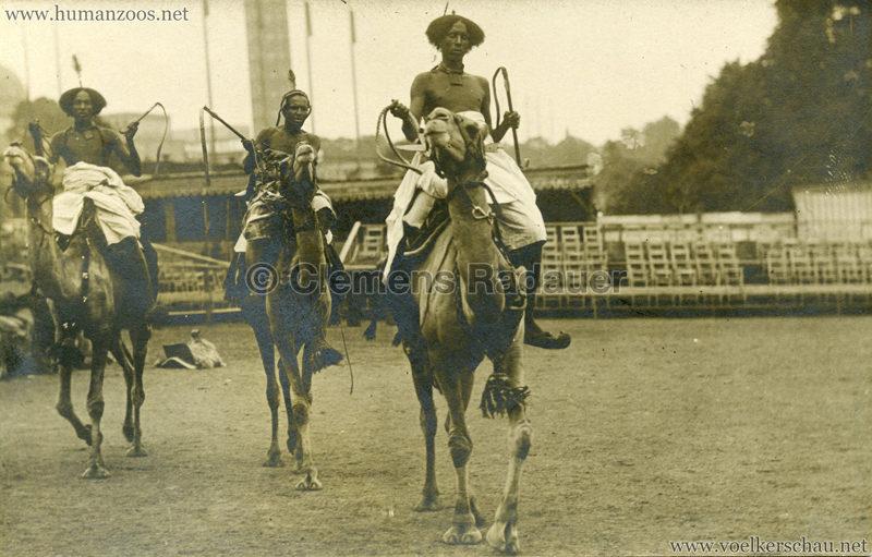 Hagenbeck Somalis - Reiter
