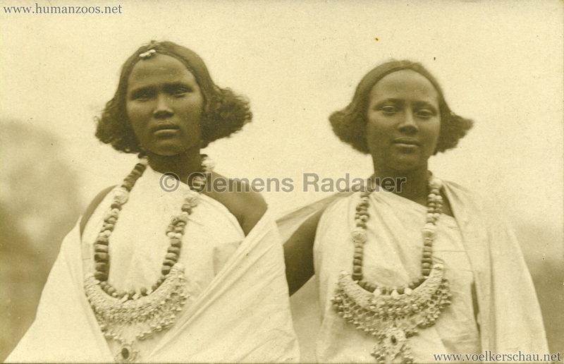 Hagenbeck Somalis - Zwei Frauen