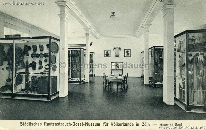 Städt. Rautenstrauch-Joest-Museum für Völkerkunde in Cöln - Amerika-Saal