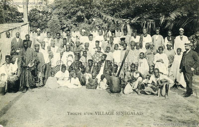 Troupe d'un Village Sénégalais