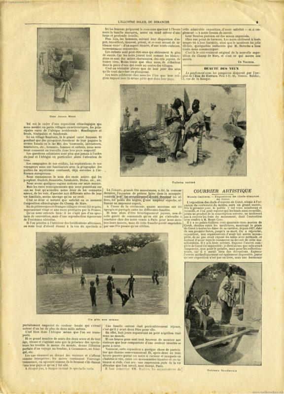 1895.06.23 Soleil du Dimanche - Soudan a Paris 2