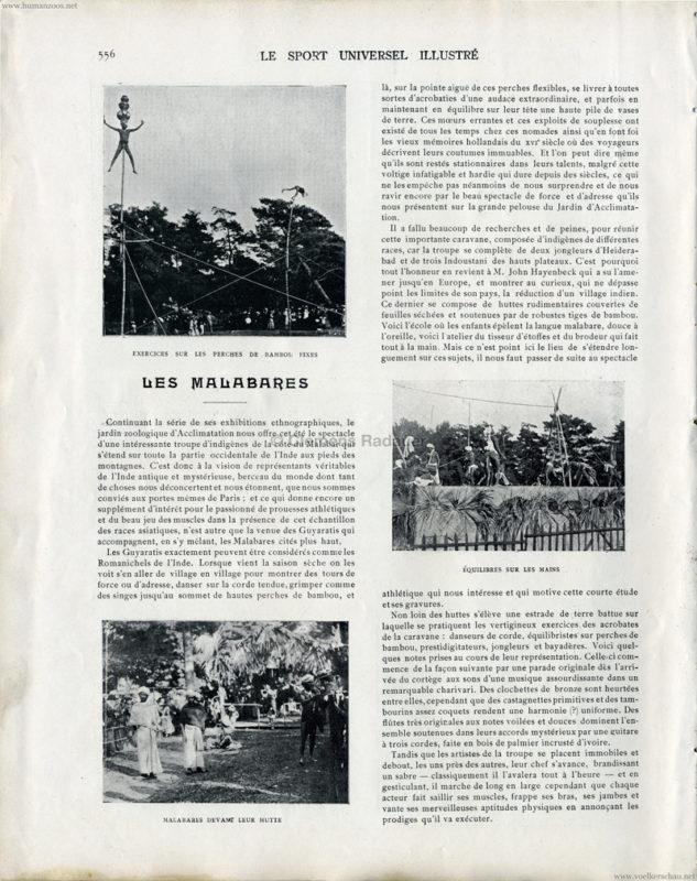 1902.08.31 Sport Universel - Les Malabares au Jardin d'Acclimatation S 556