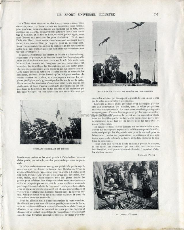 1902.08.31 Sport Universel - Les Malabares au Jardin d'Acclimatation S 557