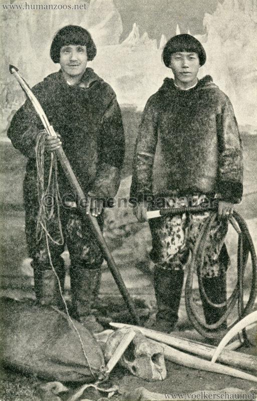 1912 Nordische Völkerschau und Raubtierdressur aus Carl Hagenbecks Tierpark 2