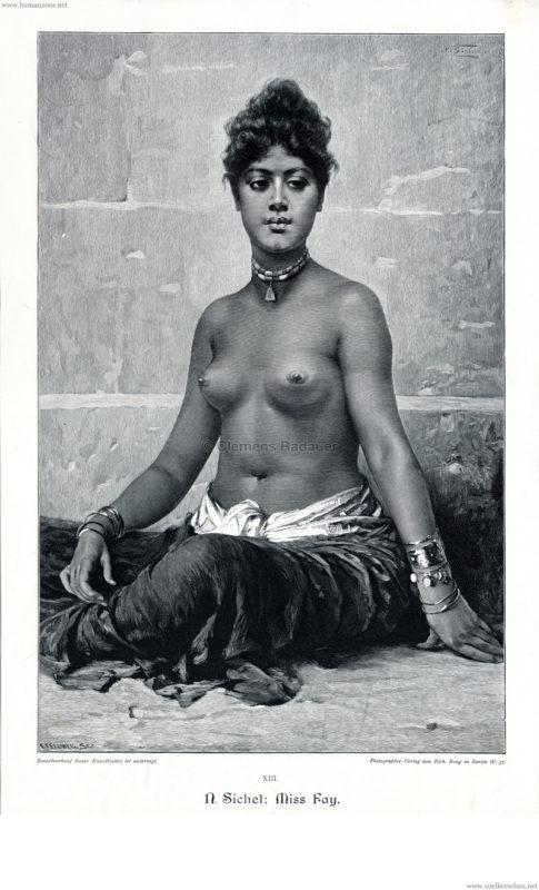 1895 N. Sichel - Miss Fay
