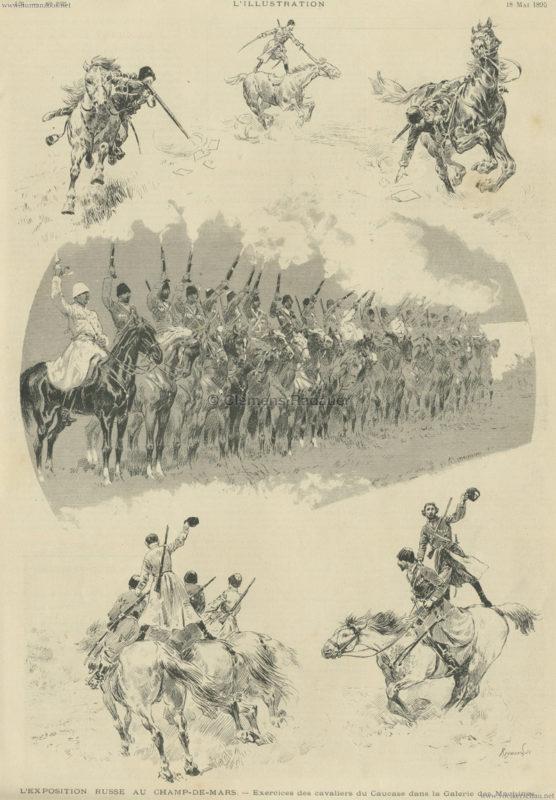 1895.05.18 L'Illustration N. 2725 - L'Exposition Russe au Champs-de-Mars