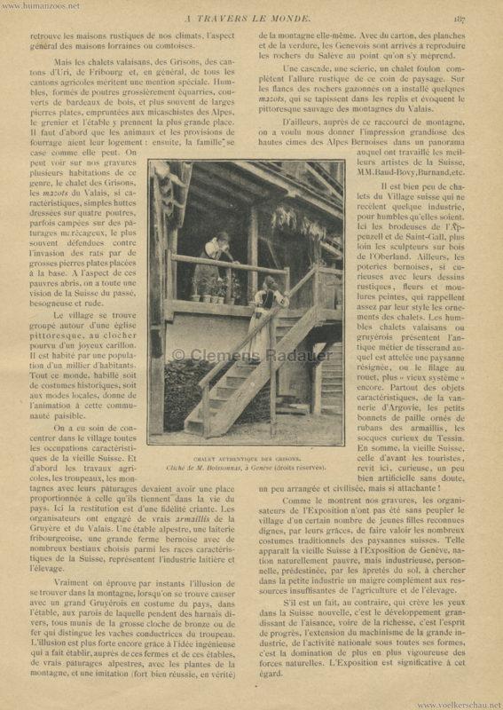 1896 A Travers le Monde - La Suisse à l'exposition de Genève 3