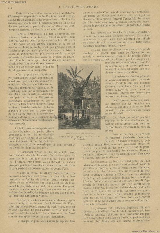 1896.06.A Travers le Monde - Les Colonies Allemandes a l'Exposition de Berlin 2