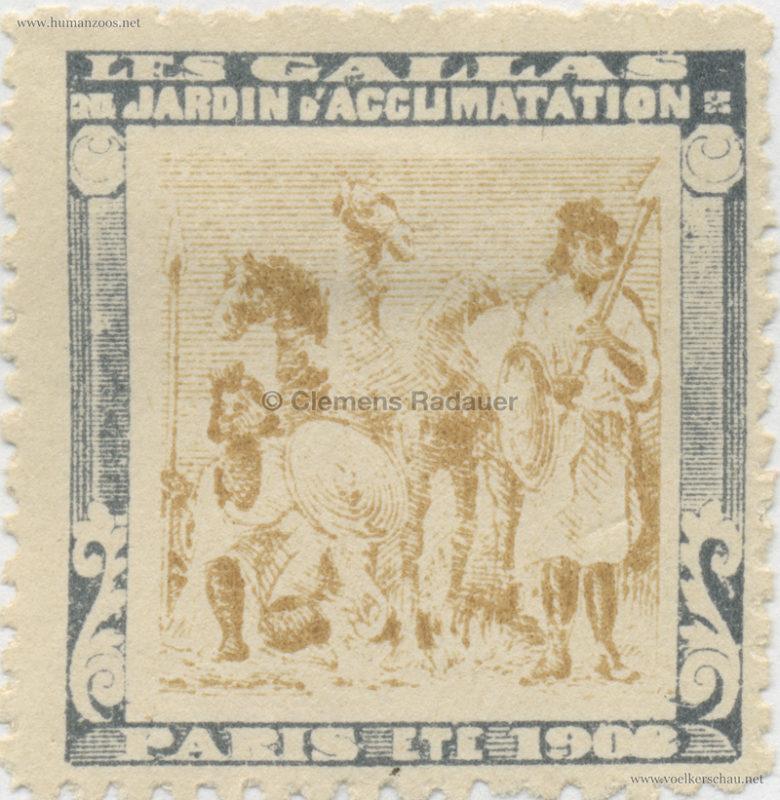 1908 Les Gallas - Jardin d'Acclimatation STAMP 34