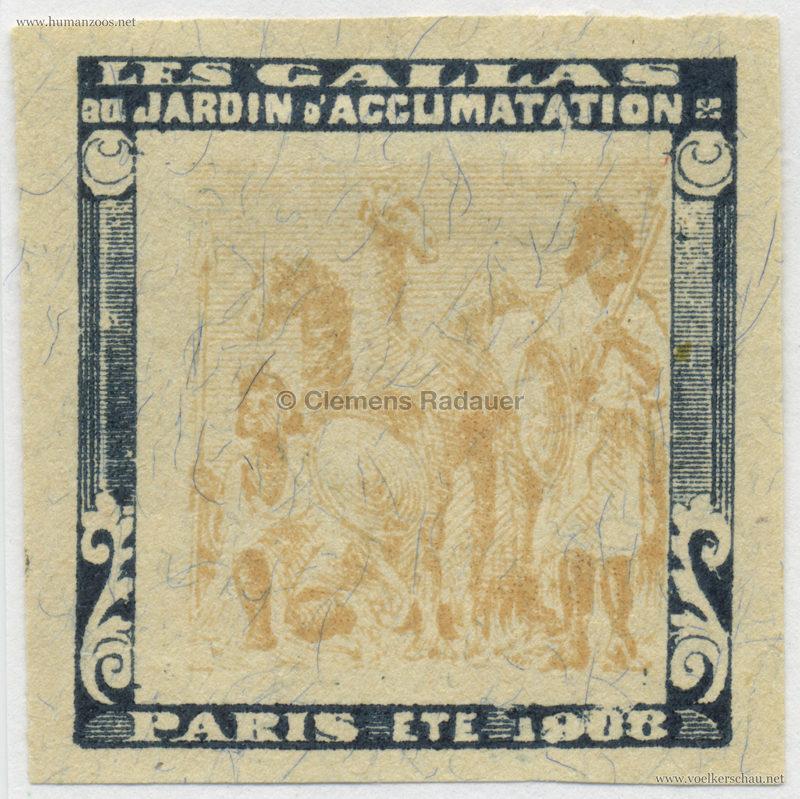 1908 Les Gallas - Jardin d'Acclimatation STAMP 40