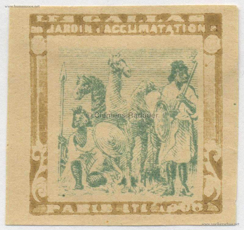1908 Les Gallas - Jardin d'Acclimatation STAMP 43