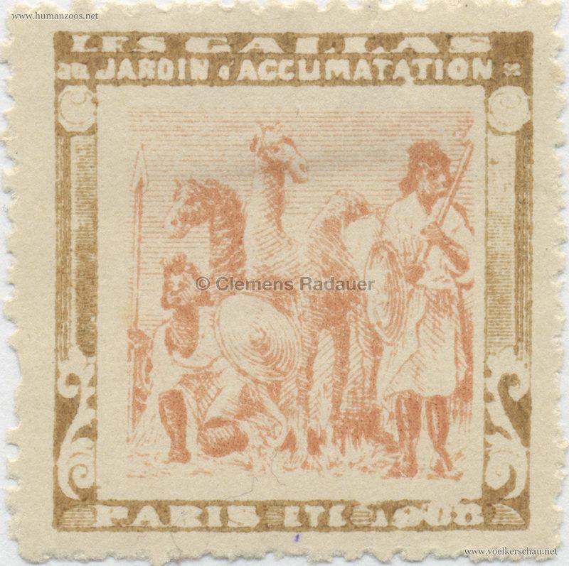 1908 Les Gallas - Jardin d'Acclimatation STAMP 9