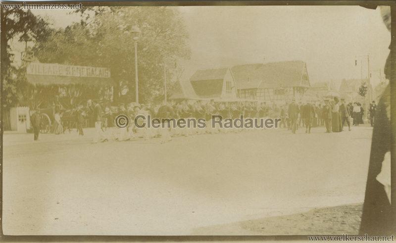 1909 Exposition de Nancy - Village Sénégalais FOTO