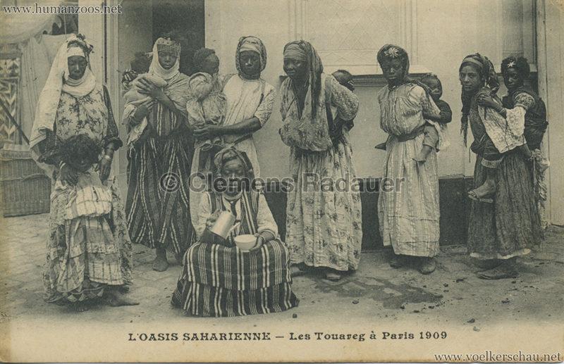 1909 L'Oasis saharienne - Les Touareg a Paris 8 VS