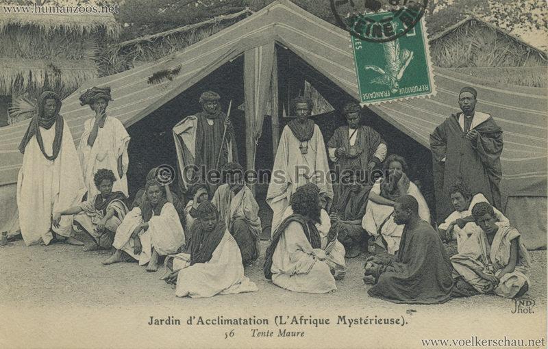 1910 L'Afrique Mystérieuse - Jardin d'Acclimatation - 56. Tente Maure