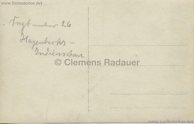 1926 John Hagenbeck's Indienschau - FOTO Elefant 2 RS