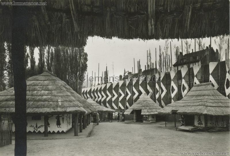 1958 Exposition Universelle Bruxelles - Village Congo 2