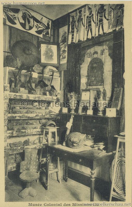 Musée Colonial des Missions - Lyon 3
