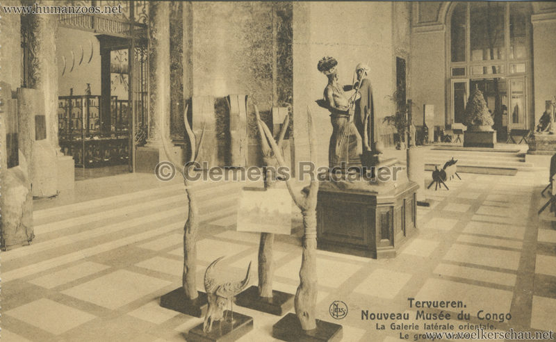 Tervueren - La Galerie laterale orientale