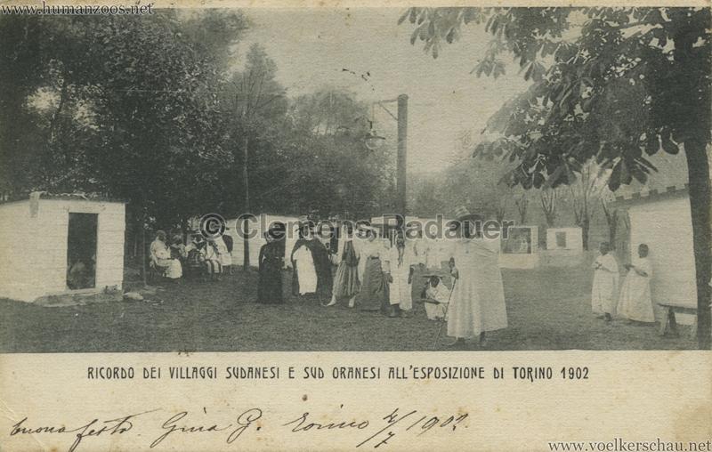 1902 Esposizione di Torino - Villaggi Sudanesi e Sud-Oranesi 9