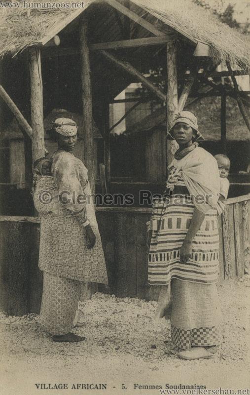 Village Africain - 5. Femmes Soudanaises