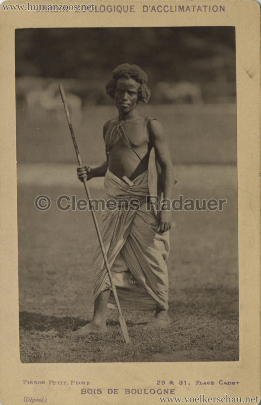 1879 (?) Jardin Zoologique d'Acclimatation - Nubiens (?) 7