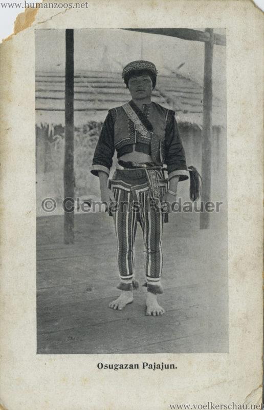 1910 Japan-British Exhibition - Formosa Village - Osugazan Pajajun