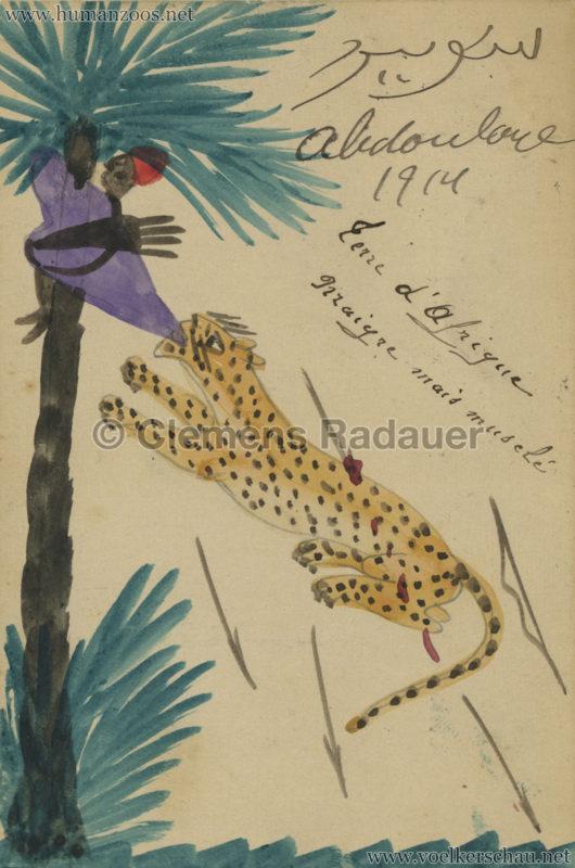 1914 Exposition Coloniale Lyon Village Senegalais Abdoulaye 3