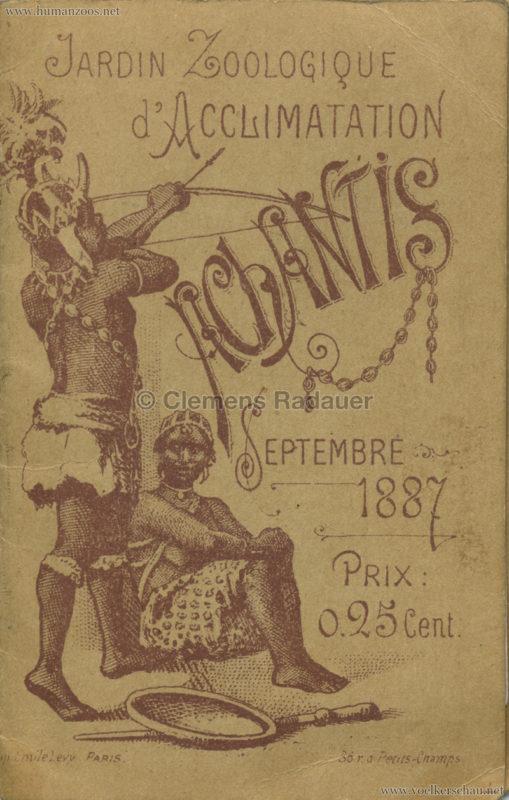 1887 Achantis - Paris Jardin d'Acclimatation LEPORELLO 1