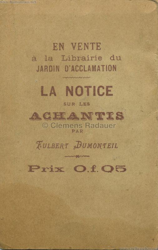 1887 Achantis - Paris Jardin d'Acclimatation LEPORELLO 4