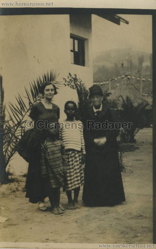 1928 Esposizione Torino - Villaggio Somalo FOTO VS
