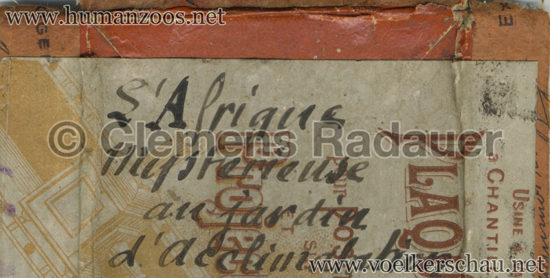 1910 Afrique Mysterieuse STEREO Deckel D