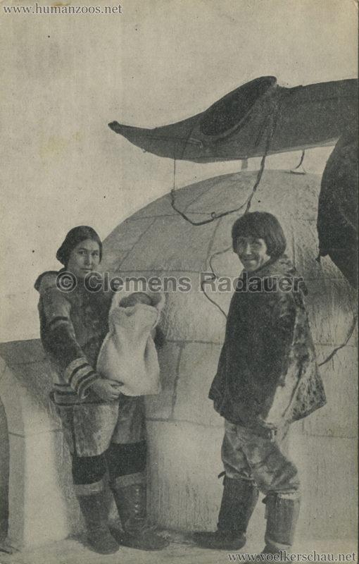 1912 Nordische Völkerschau und Raubtierdressur aus Carl Hagenbecks Tierpark 3