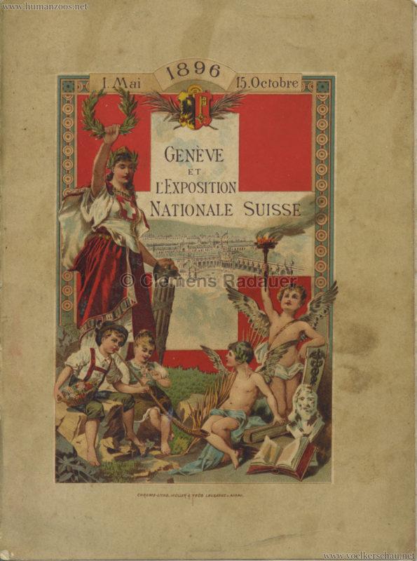 1896 L'Exposition Nationale Suisse Geneve PROGRAMM