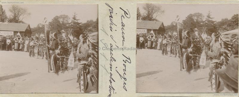 1911 Peaux Rouges Jardin d'Acclimatation STEREO 1