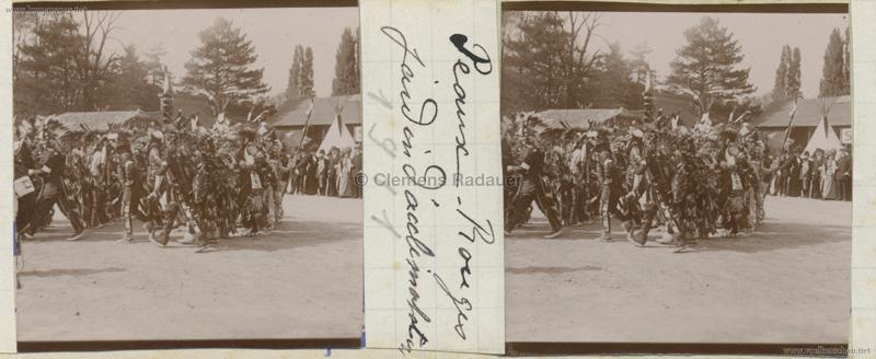 1911 Peaux Rouges Jardin d'Acclimatation STEREO 3