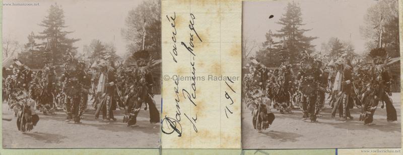 1911 Peaux Rouges Jardin d'Acclimatation STEREO 4