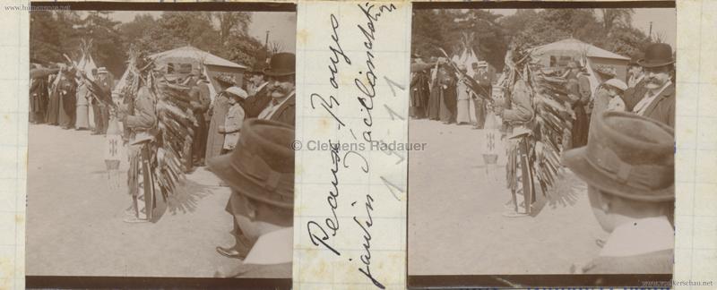 1911 Peaux Rouges Jardin d'Acclimatation STEREO 5