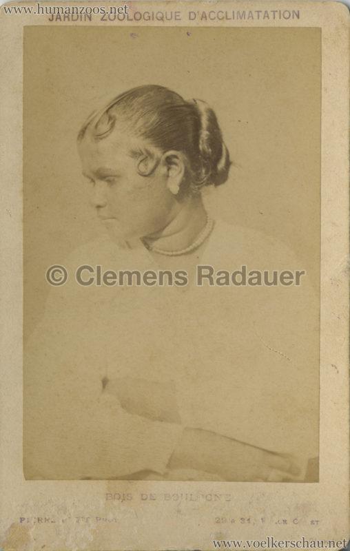 1883 Cinghalais au Jardin d'Acclimatation CDV 5 VS